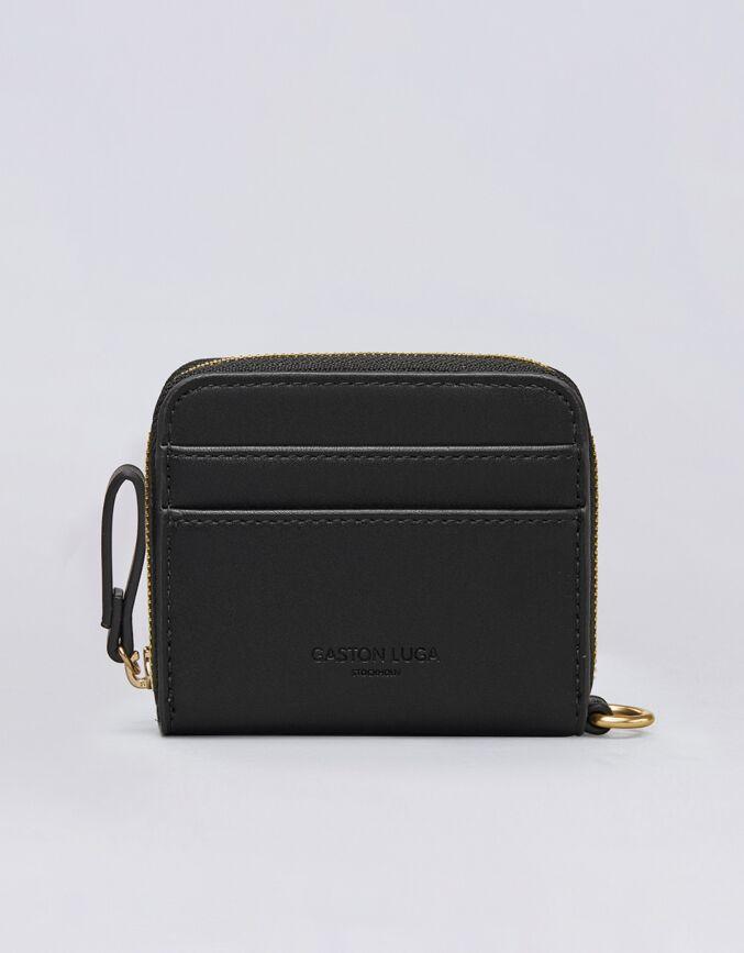Börs ボーシュ (ミニ財布) ゴールド&ブラック