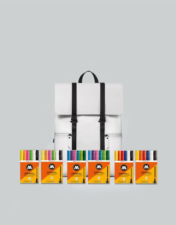 "Spläsh 13"" + GLX Molotow Marker Set"