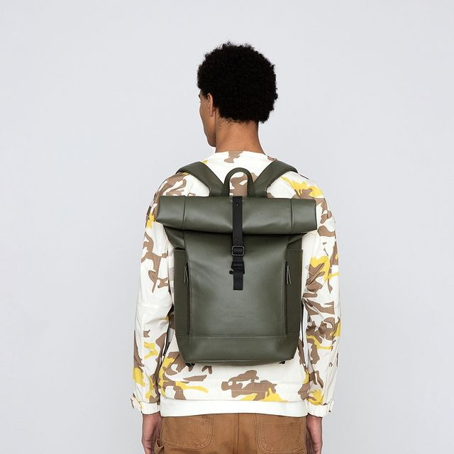 Our backpack Rullen will let you bring whatever you need for the day, and guaranteed take your outfit to the next level. Shop at gastonluga.com.⠀⠀⠀⠀⠀⠀⠀⠀⠀ ⠀⠀⠀⠀⠀⠀⠀⠀⠀ #anywherewithgl #gastonluga #rullenoliveblack