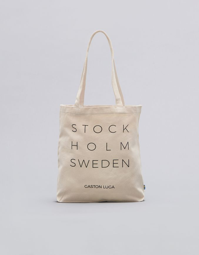 STOCKHOLM TOTE BAG (LIMITED EDITION)Cream