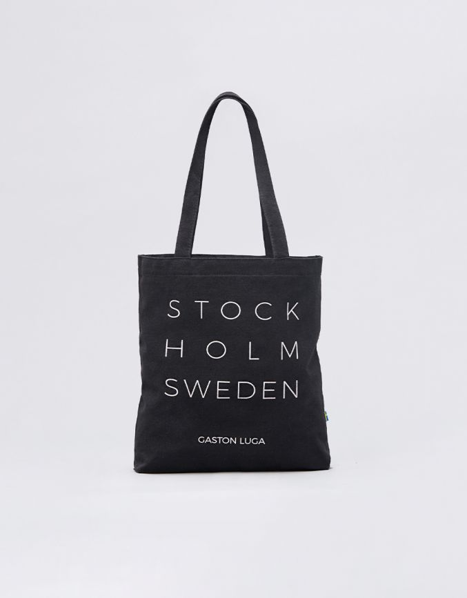 STOCKHOLM TOTE BAG (LIMITED EDITION)Black