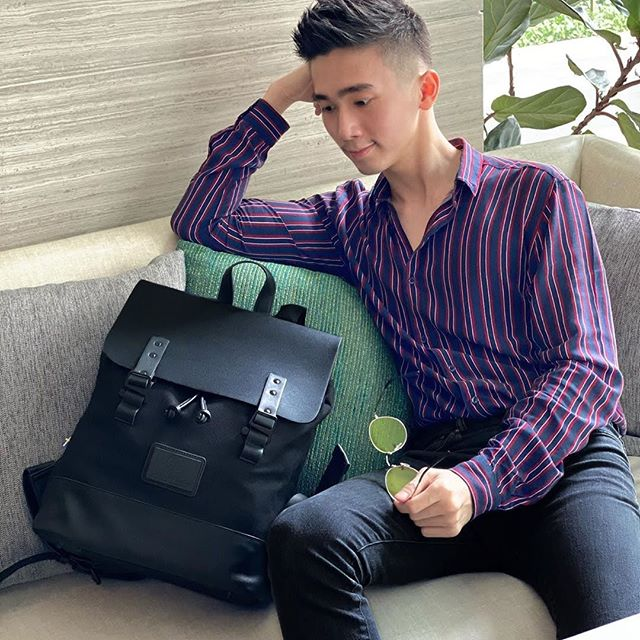 Sundays should come with a pause button.⏸️ (Photo via @bryankjy)⁠ ⁠ #PråperBlack⁠ #walkswithGL #anywherewithGL #gastonluga⁠
