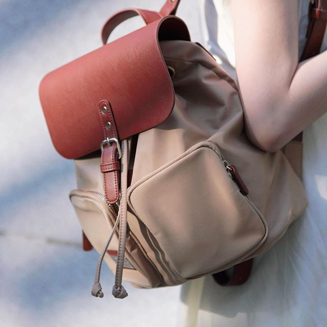 Look no further! If you want something elegant and functional, our Pärlan backpack is your best choice!