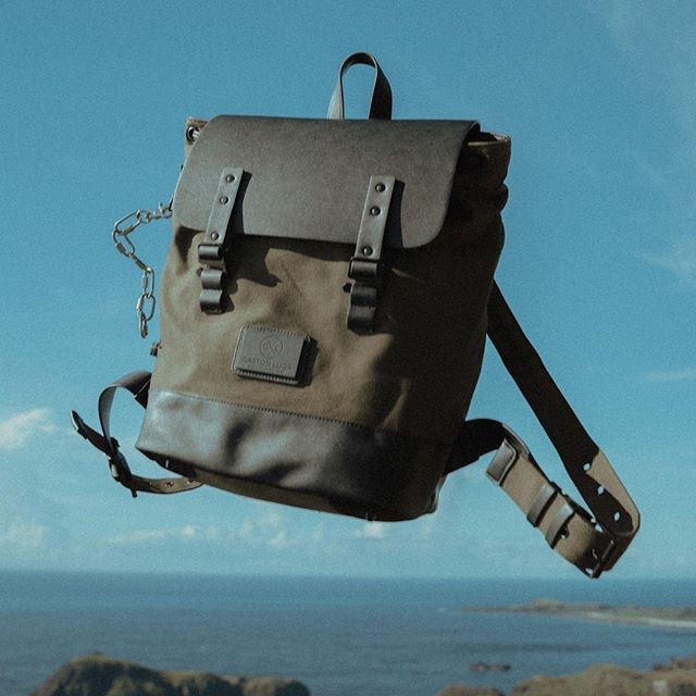 A great journey begins with carrying your Gaston Luga backpack