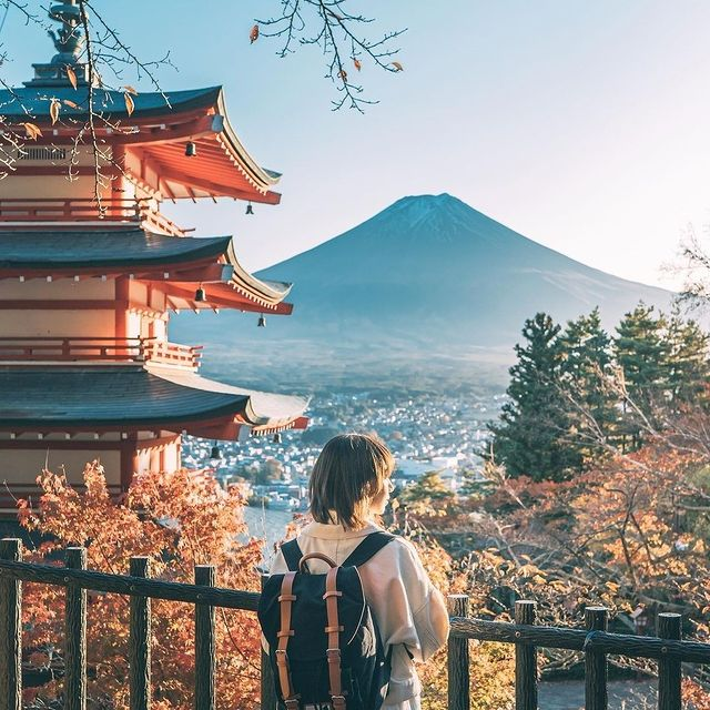 """""""The world is a book and those who do not travel read only one page.""""  (Photo via @kouyou_jp) #AnywhereWithGL #GastonLuga"""