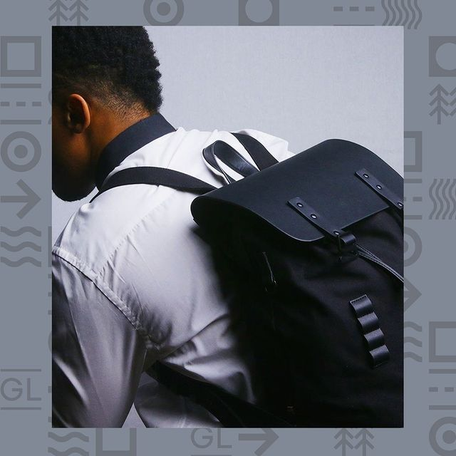 Featuring @lemar with his Pråper Black backpack. Share your journey with us by using #AnywhereWithGL and #GastonLuga and stand a chance to get featured!
